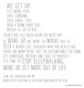 Wake Up Story Mug