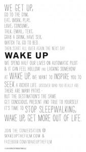 Wake Up Story Tee